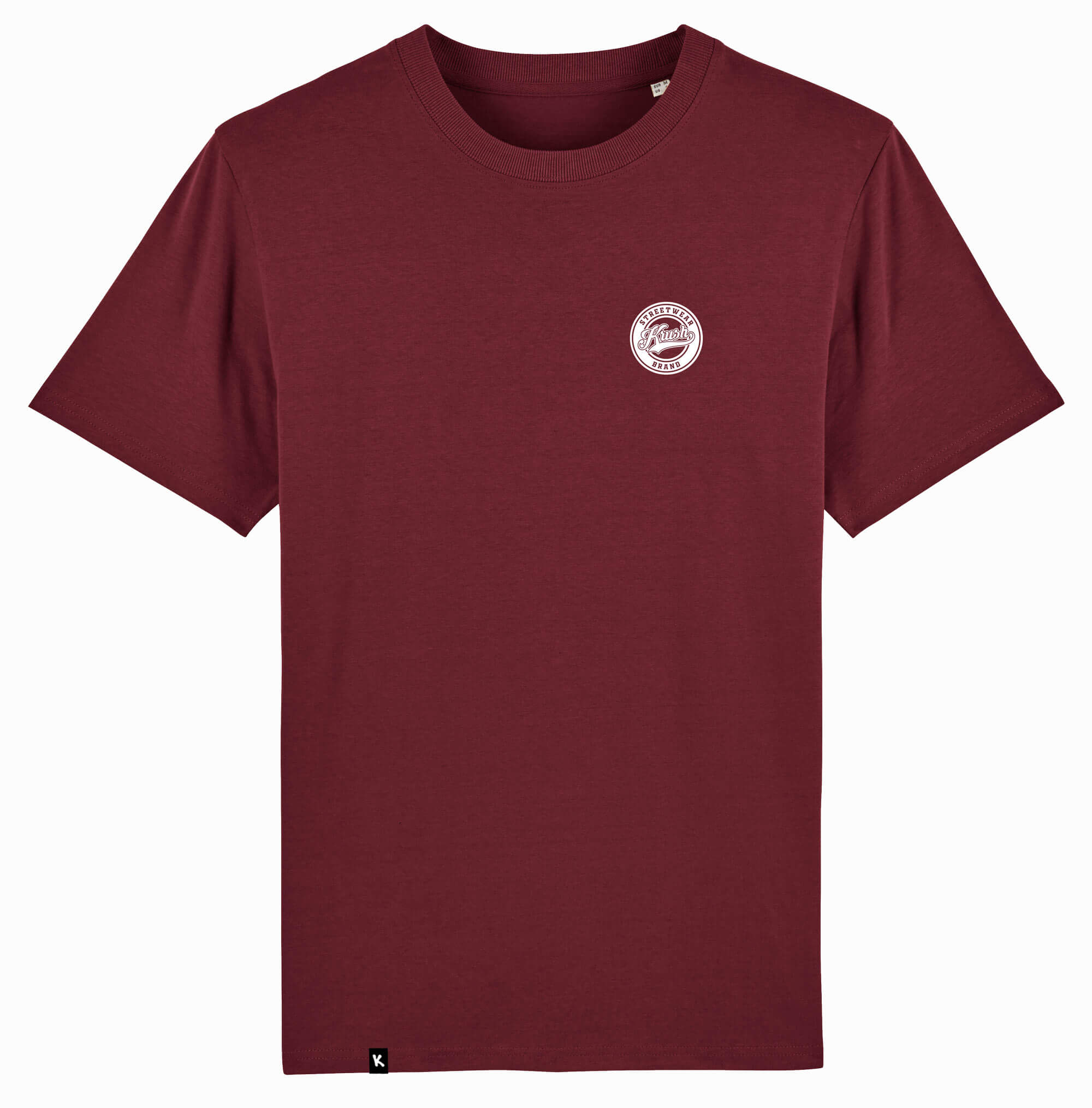 Krush Tee burgundy